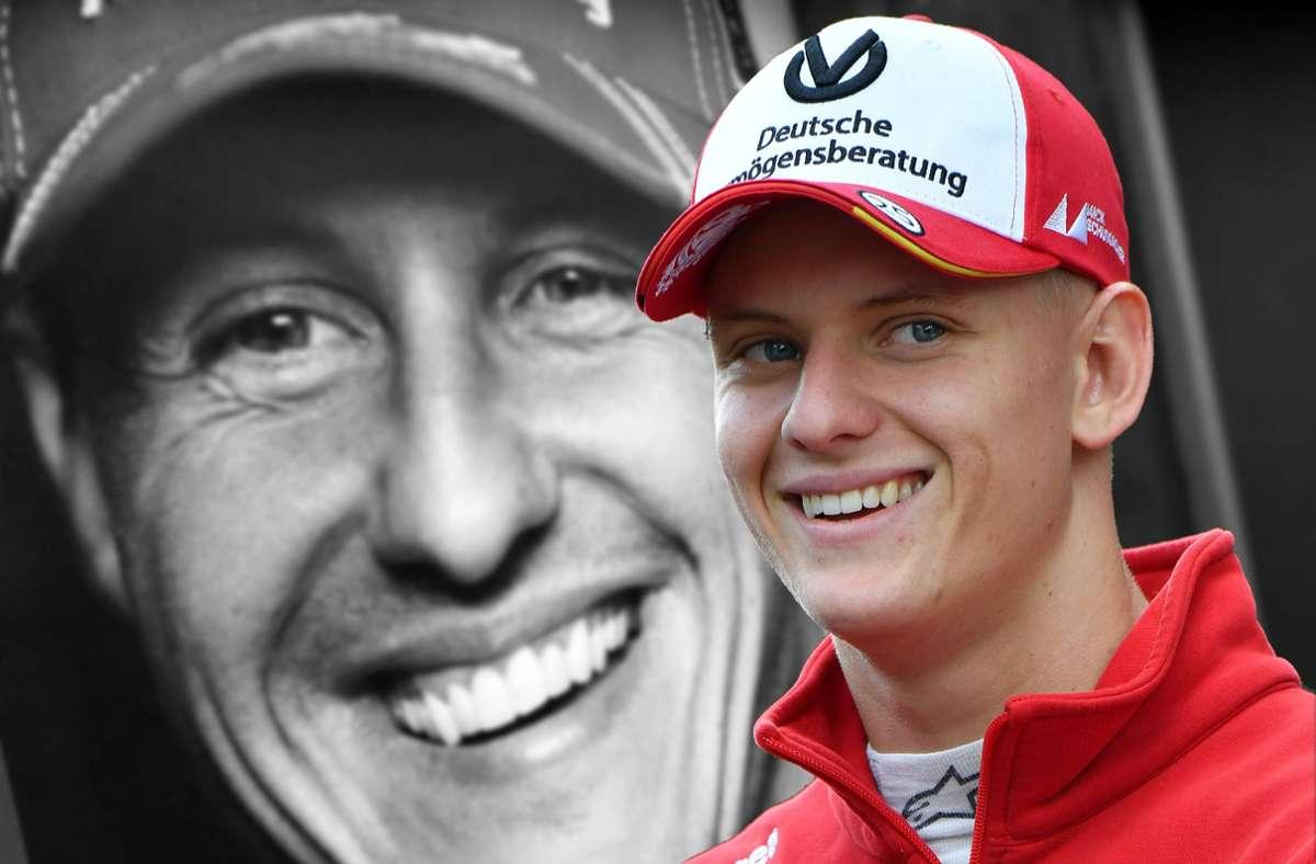 Mick Schumacher hat es geschafft: wie früher sein Vater wird er Formel-1-Pilot Foto: imago
