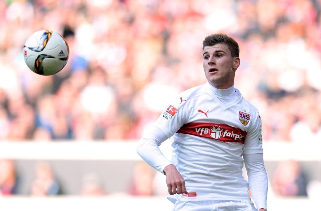 Mit Timo Werner vom VfB Stuttgart gewinnt der RB Leipzig ein Offensivtalent dazu. Foto: dpa