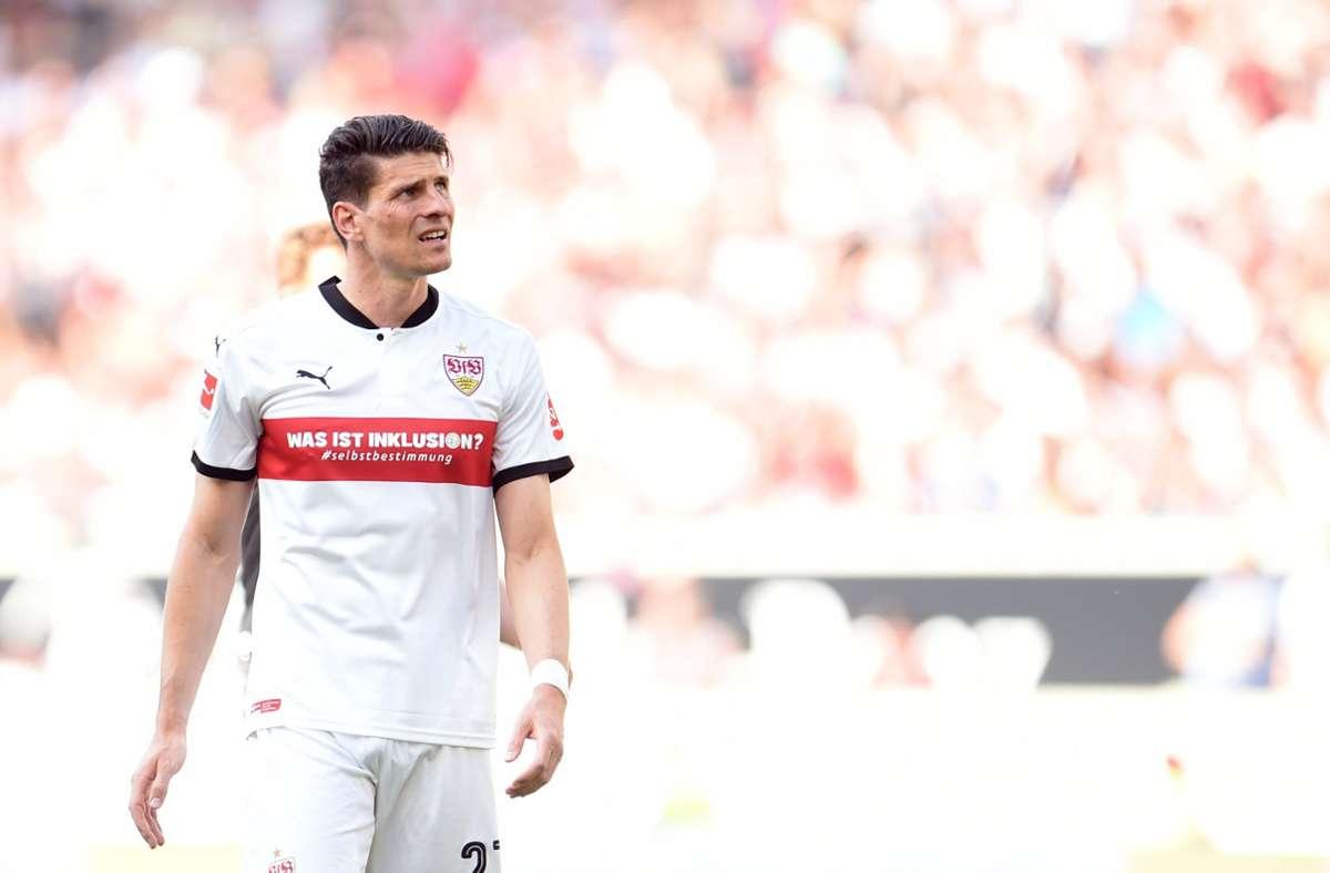 Mario Gomez  hat seine Karriere beim VfB Stuttgart beendet. An diesem Freitag feiert Gomez Geburtstag – Zeit, seine Laufbahn noch einmal Revue passieren zu lassen. Foto: dpa/Andreas Gebert
