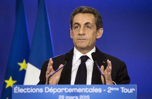 Etappensieg für Sarkozy