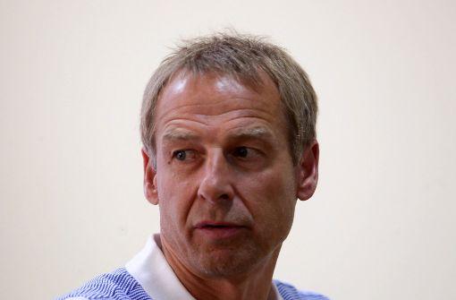 Wie sieht Klinsmann die Situation beim VfB?