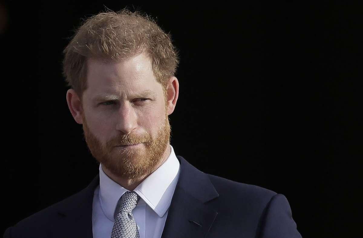 Prinz Harry hat dem Palastleben den Rücken gekehrt. Foto: AP/Kirsty Wigglesworth