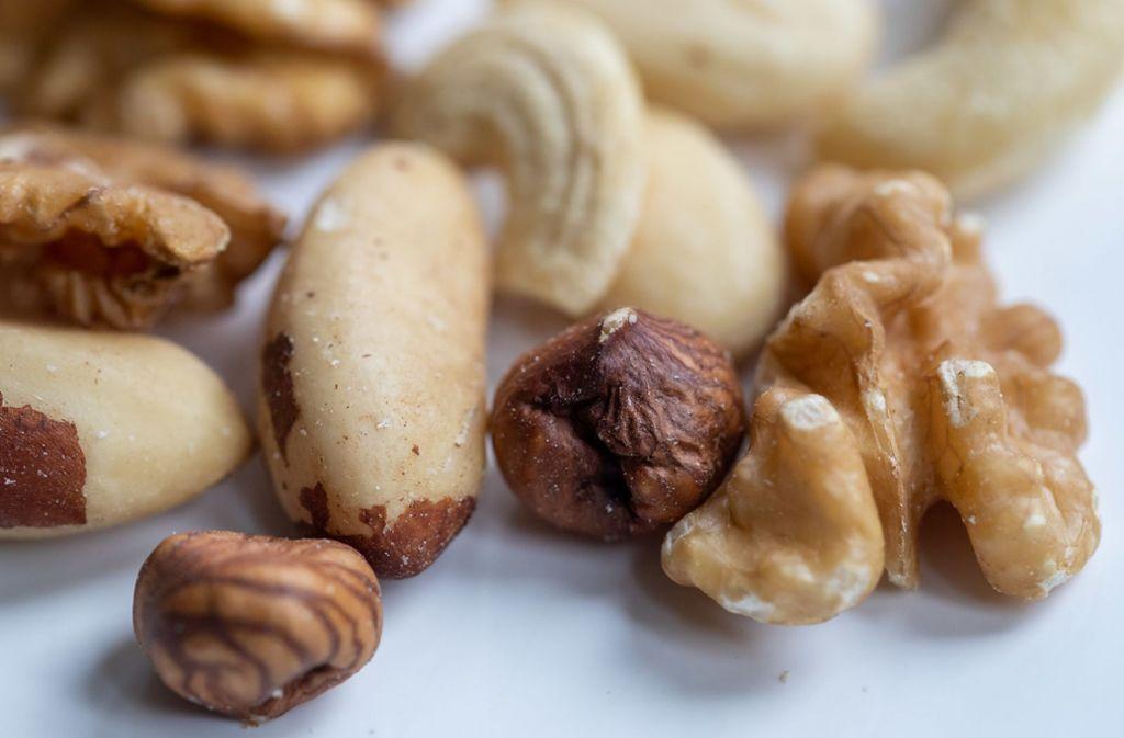 Viele Menschen sind gegen Nüsse allergisch. Foto: dpa/Daniel Karmann