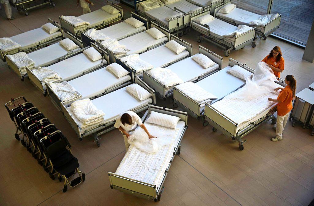 Mit der Nachförderung für 70 Betten sieht die Klinikbilanz um einiges besser aus. Foto: