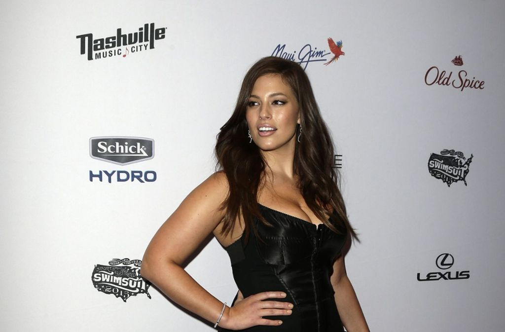 "Macht was her: ""Plus Size""-Model Ashley Graham Foto: dpa"