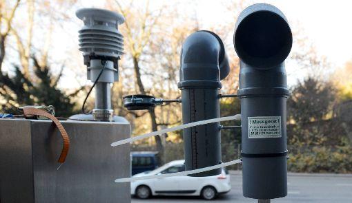 Am Dienstag war im Stadtbezirk Weilimdorf wenig Feinstaub in der Luft