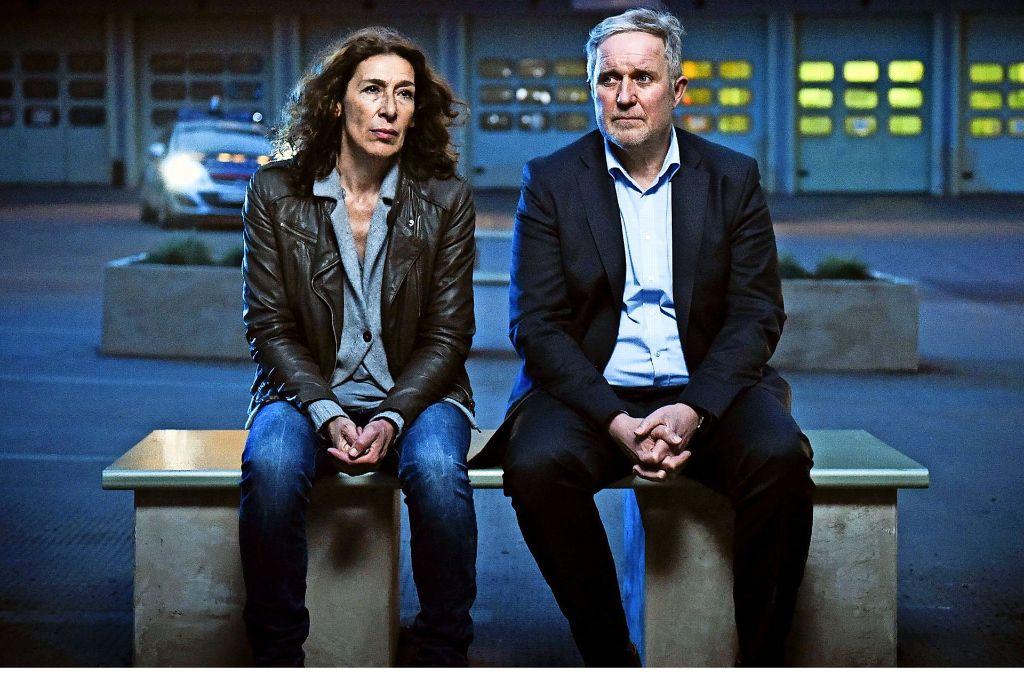 Wehrlos in Wien: Harald Krassnitzer als Moritz Eisner und Adele Neuhauser als Bibi Fellner Foto: ARD