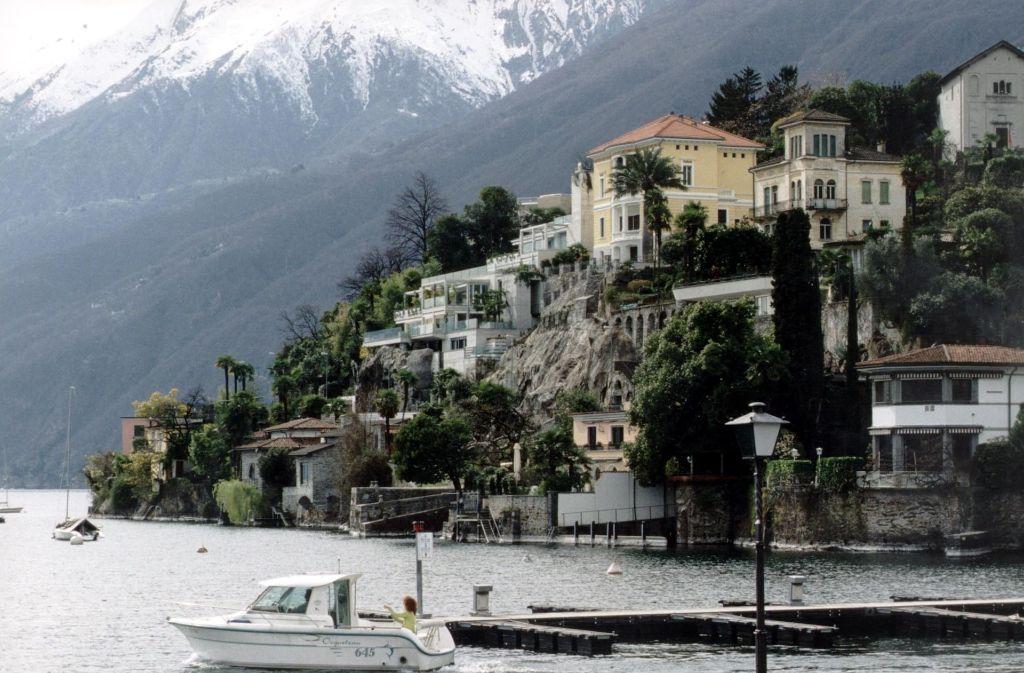 Der malerische Lago Maggiore ist in Bruno Vareses neuestem Krimi erneut Schauplatz eines Verbrechens. Foto: Archiv