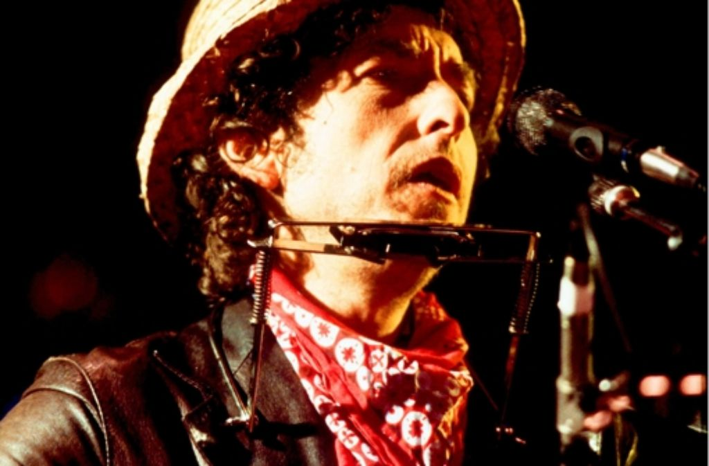 Bob Dylan wechselt wie ein Chamäleon die Musikgattungen. Foto: AFP