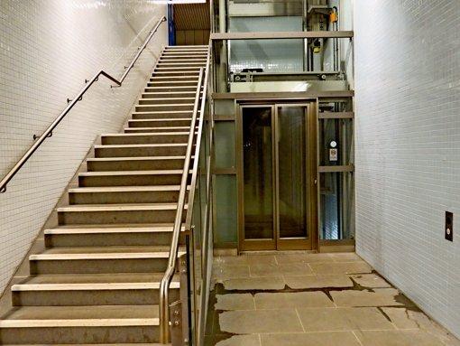 Bausensation Aufzug