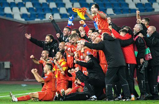 Nordmazedonien qualifiziert sich erstmals für die EM