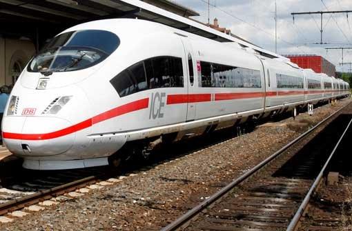 Bahn hat Kosten für ICE-Trasse geschönt