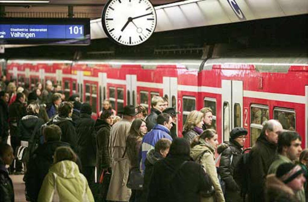 Stuttgarter S-Bahn-System soll verbessert werden. Foto: Steinert