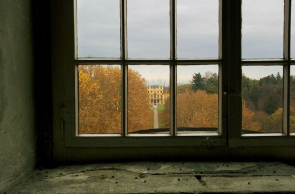In Blickweite des Residenzschlosses liegt das Favoriteschloss. Foto: Irina  Kholodna