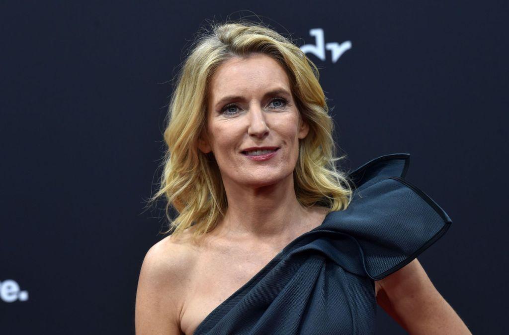 """Engagiert: die Schauspielerin und """"Tatort""""-Kommissarin Maria Furtwängler Foto: AFP/Christof Stache"""