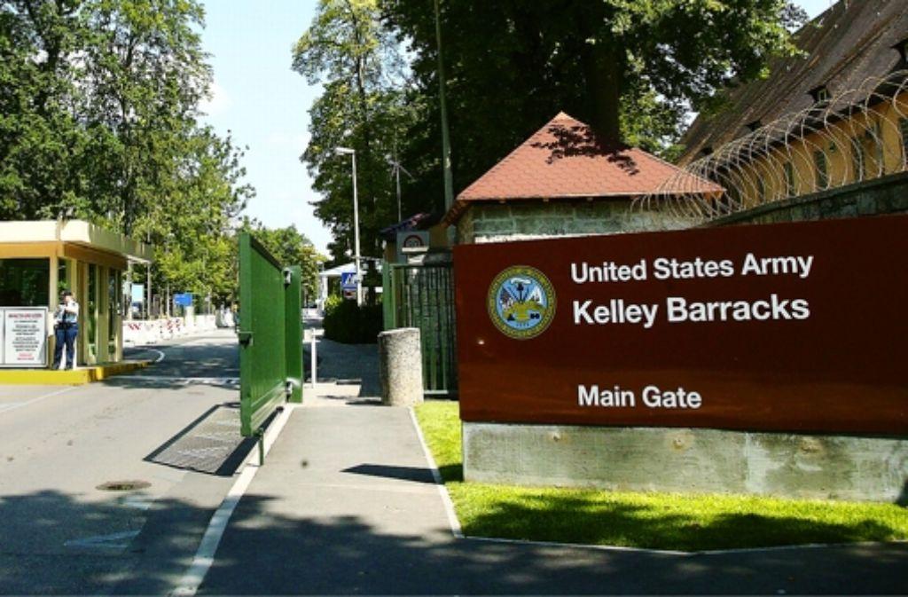"""Sitz von Africom: die """"Kelley Barracks"""" in Stuttgart-Möhringen Foto: Achim Zweygarth"""