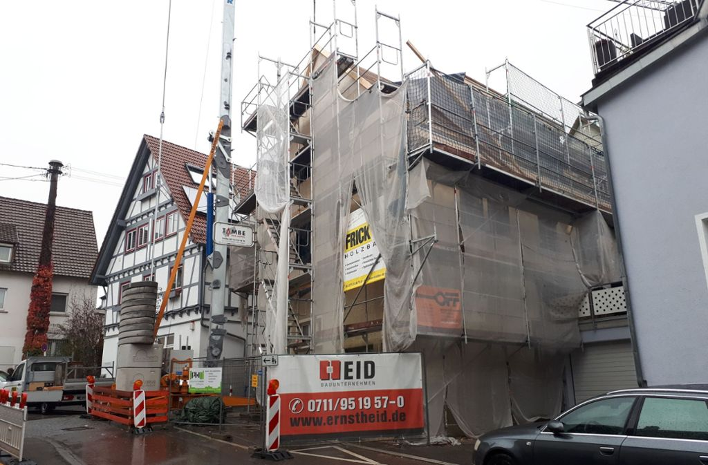 Bauliche Entwicklung am Milchhäusle in der Weimerstraße. Foto: FZ
