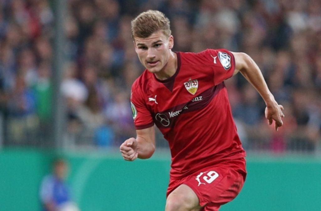 Die Karriere des VfB-Stürmers  Timo Werner ist ins Stocken geraten. Foto: Pressefoto Baumann