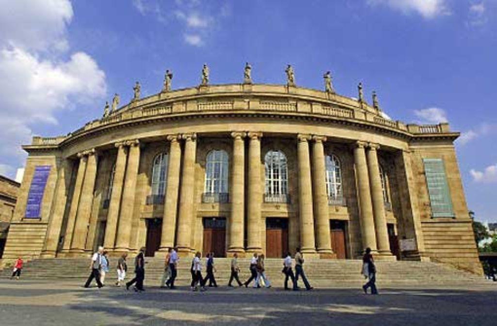 Der Roman Kürzere Tage stammt von einer Stuttgarterin und wird im Stuttgarter Staatstheater mehr schlecht als recht interpretiert. Foto: Steinert