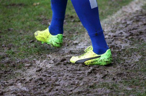 Pokalspiel nach heftigem Regen abgesagt