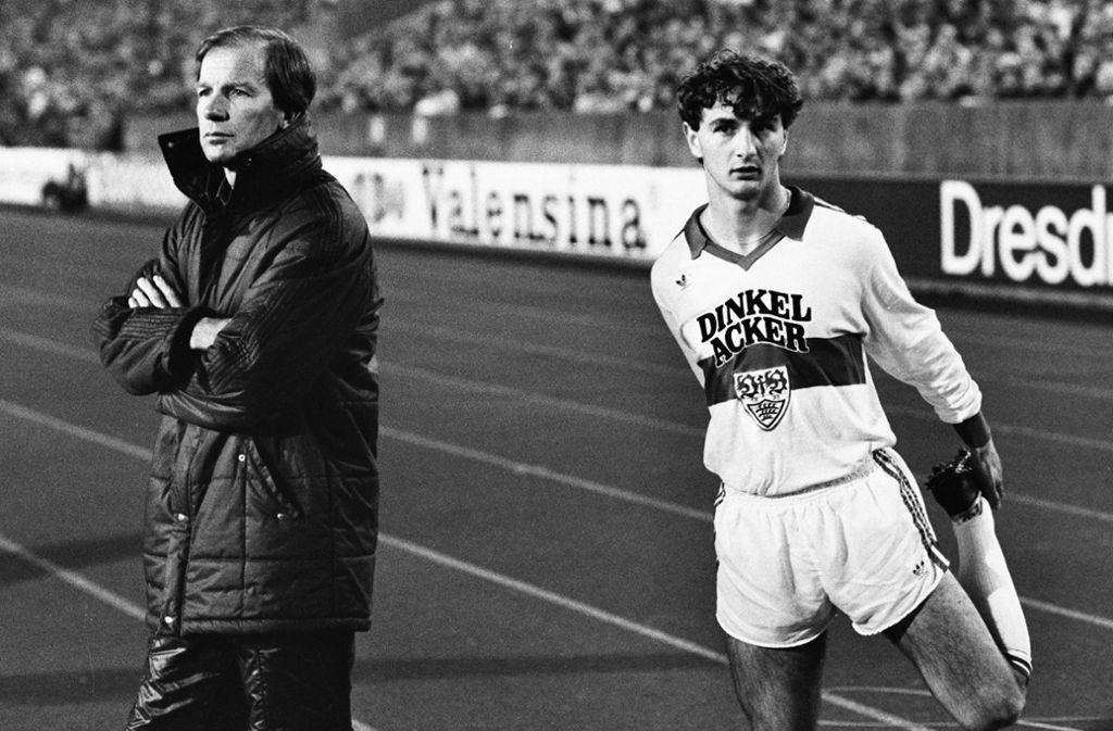 Benthaus führte den VfB 1984 zum Meistertitel – reicht das zum Jubiläumscoach? Foto: Pressefoto Baumann