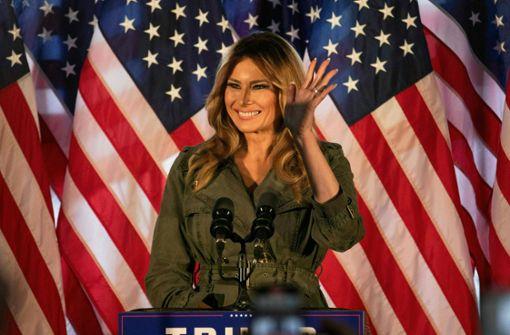 So reagiert Melania Trump auf die Ergebnisse