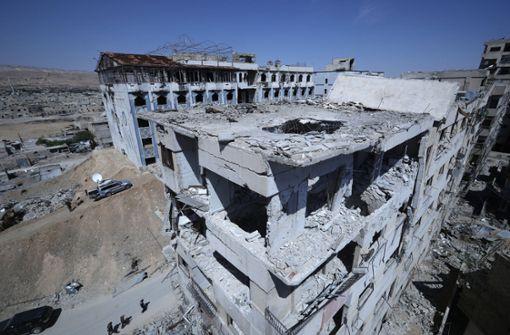 OPCW gibt syrischer Luftwaffe die Schuld