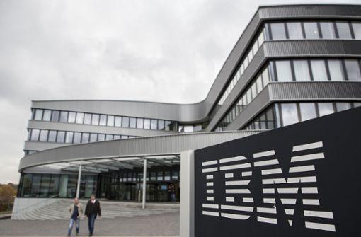 IBM enttäuscht mit schwachen Zahlen - Aktie auf Talfahrt