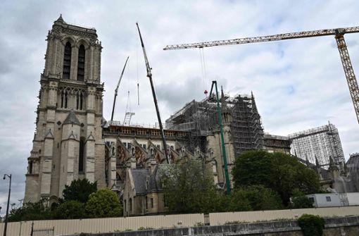 Notre-Dame: So läuft die Rettung an