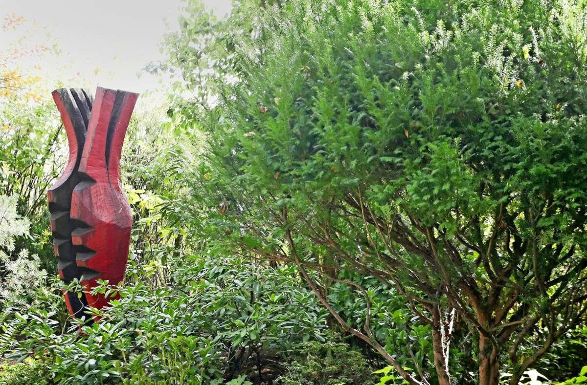 """""""Städte können nur überleben, wenn sie eine grüne Lunge haben"""", sagt der Geschäftsführer Stephan Arnold. Auch private Gärten können dazu einen Beitrag leisten. Foto: Eileen Breuer"""