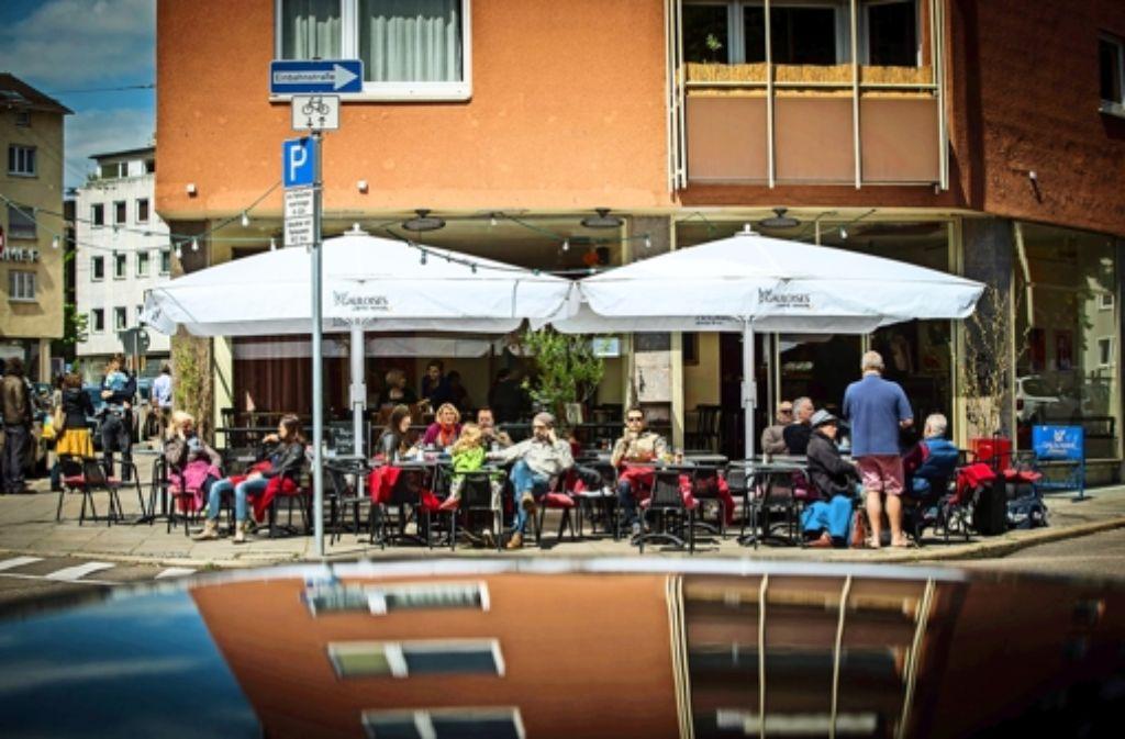 Im Café Heller in Stuttgart-West können Sie wieder Foto: Achim Zweygarth