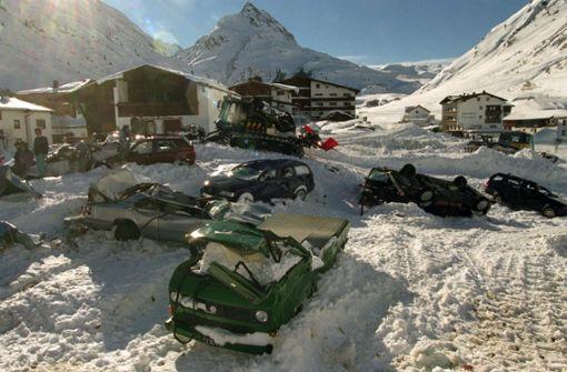 Als die tödliche Schneewalze Galtür begrub