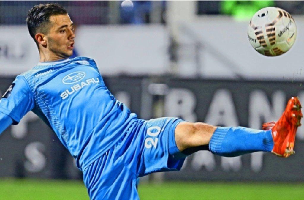 Besar Halimmi kickt in Zukunft in der 2. Bundesliga.  Foto: Pressefoto Baumann