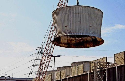 BlockI des Kernkraftwerks Neckarwestheim ist abgebaut. Wohin mit dem Bauschutt? Foto: dpa