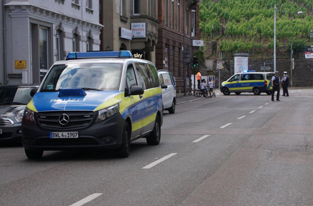 In der Brückenstraße hat es am Montag einen Unfall gegeben, bei dem ein Junge schwer verletzt wurde. Foto: 7aktuell.de/Andreas Werner