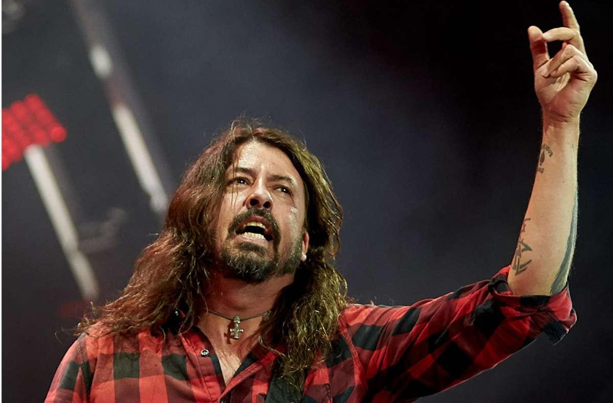 Dave Grohl kann mit den Foo Fighters endlich ein neues Album vorlegen. Foto: dpa/Thomas Frey