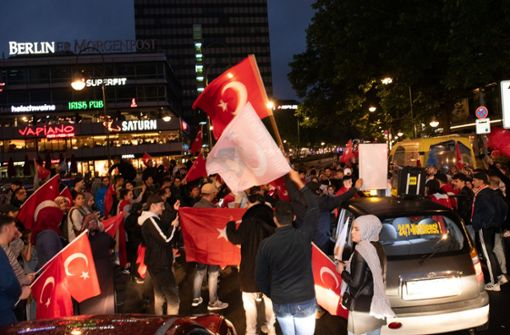 Erdogan schneidet in Deutschland besser ab als in Türkei