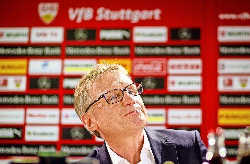 Michael Reschke beim VfB: Diskutieren und Sondieren