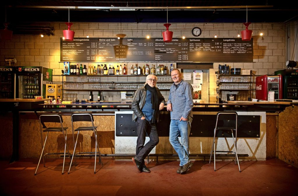 Zwei Macher: Werner Schretzmeier (links) und Werner Hassler haben das soziokulturelle Zentrum in der Provinz mitgeprägt. Foto: