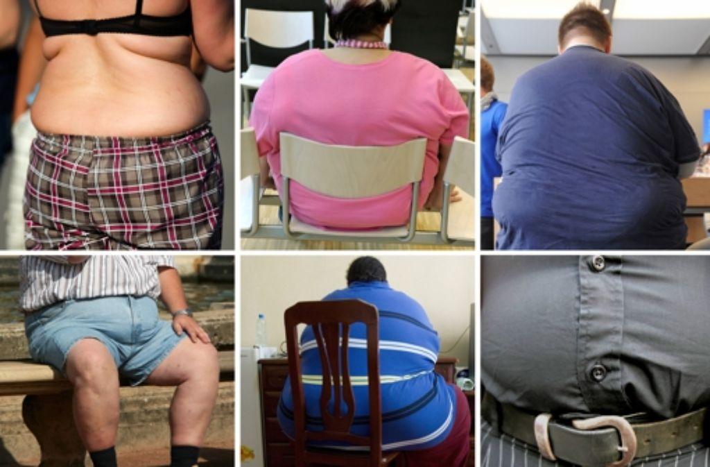 """""""Wenn man dick veranlagt ist und darunter leidet, hilft es, wenn man sich das einzugestehen erlaubt: Ja, ich bin dick."""" Foto: dpa"""