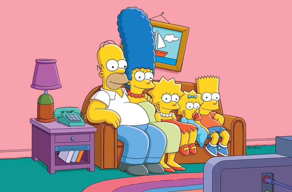 Die Simpsons haben in einer Folge der Serie das Coronavirus vorhergesagt. Foto: dpa