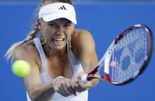 Caroline Wozniacki fliegt in der ersten Runde raus