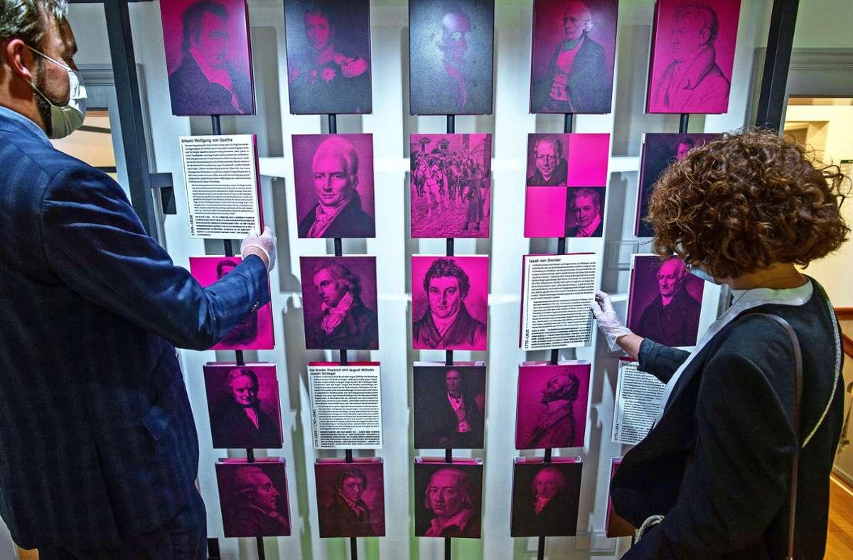 Neue Konzeption, neuer Auftritt  – und hoffentlich viele neue Besucher: Das Hegel-Haus erstrahlt in neuem Glanz. Foto: Lichtgut/Leif Piechowski