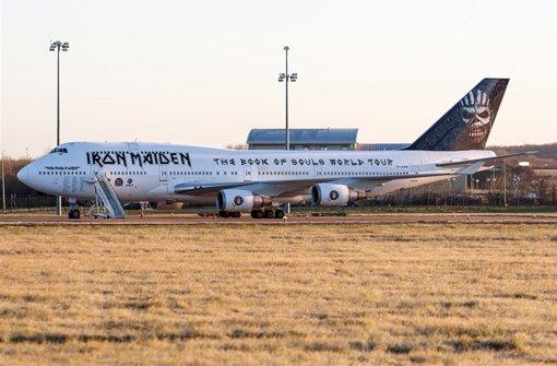 Iron Maiden erobern den Luftraum