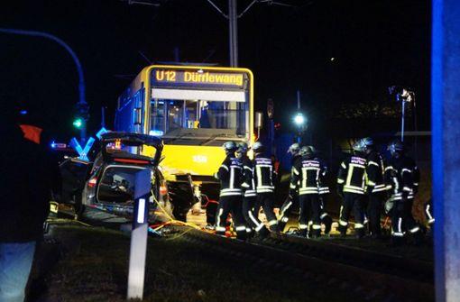 Kind stirbt bei Unfall mit Stadtbahn