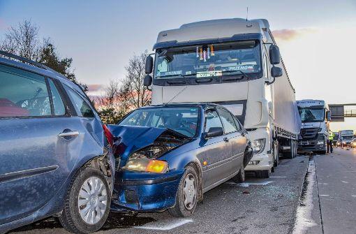 Schwerer Unfall auf der A5