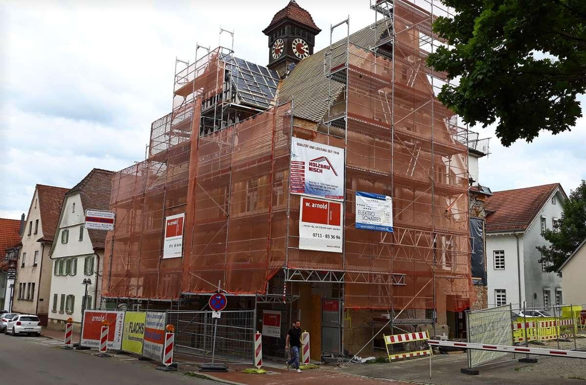 4,2 Millionen Euro sollen in die Modernisierung des denkmalgeschützten Gebäudes gesteckt werden. Foto: Bernd Zeyer