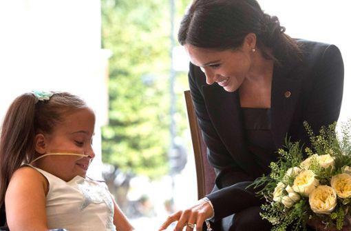 Royals zaubern Kindern ein Lächeln ins Gesicht