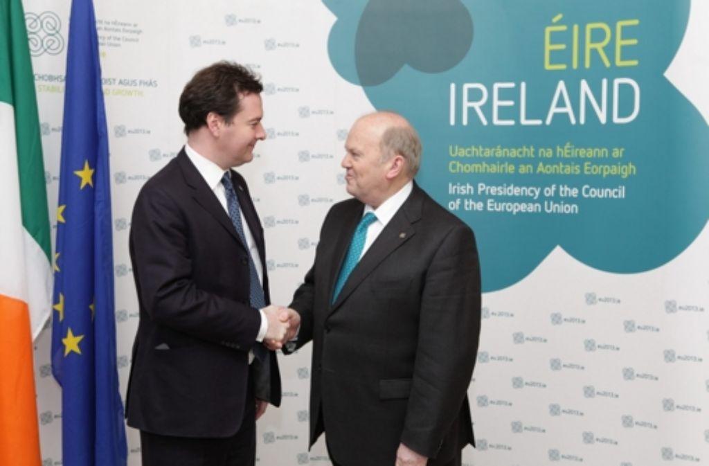 Treffen in Irland: Europas Finanzminister gehen gegen Steueroasen vor Foto: dpa