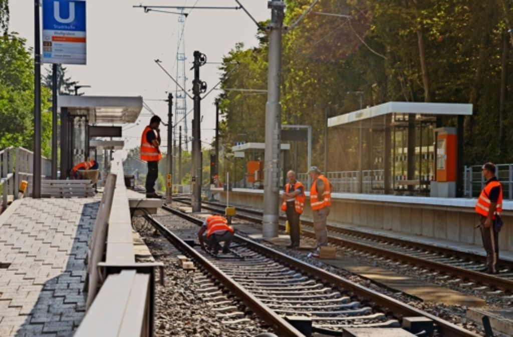 2013 haben die SSB mit dem Bau der neuen U12 begonnen. Foto: Sandra Hintermayr